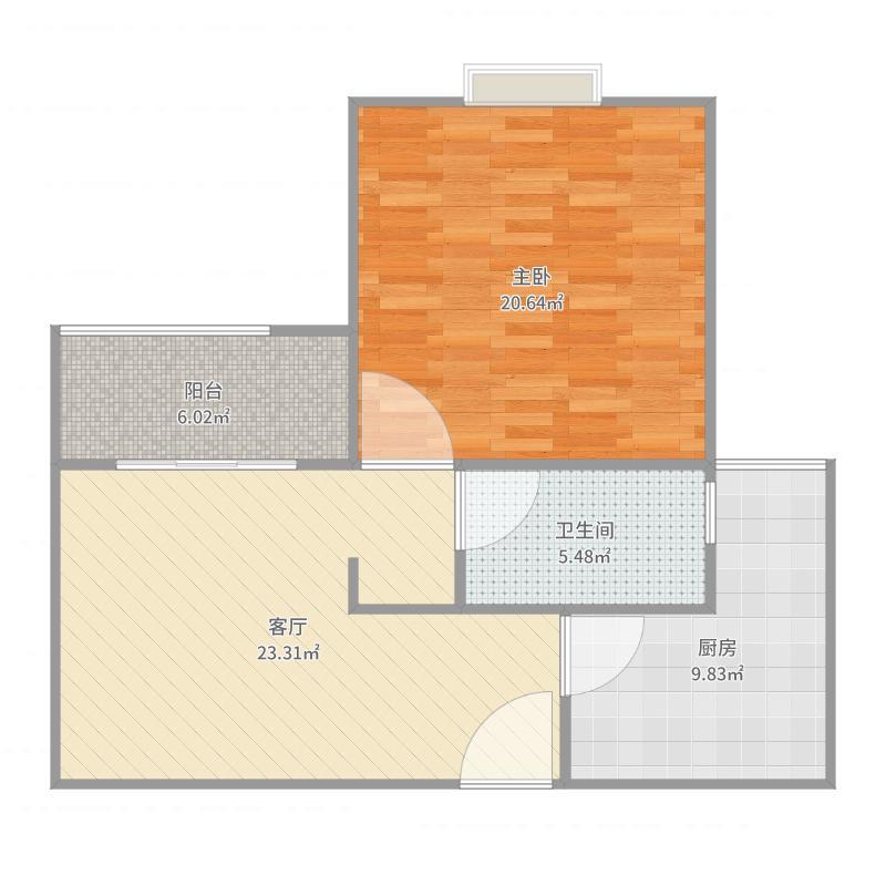 杉林新月家园875弄5户型图