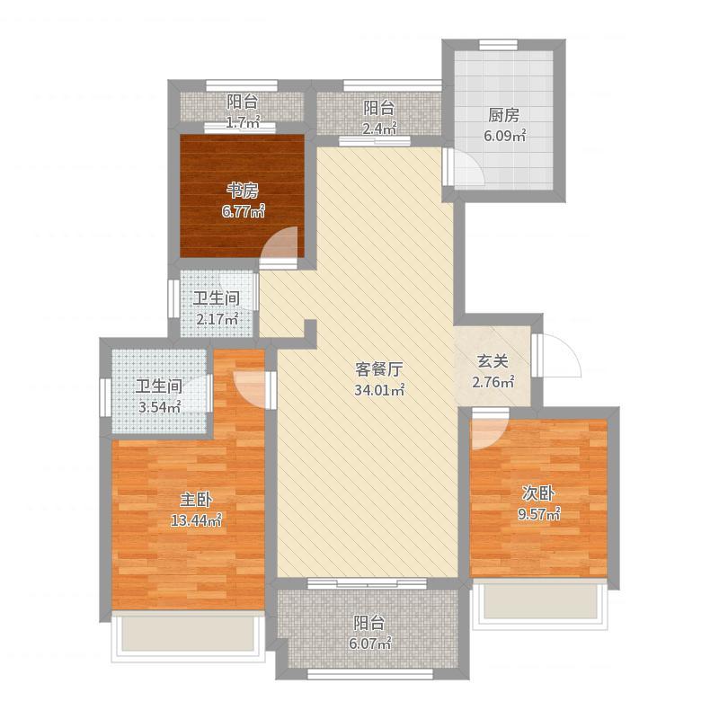 南湖尚苑户型图