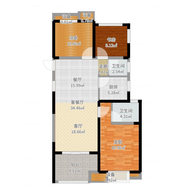 常州_招商花园城_2017-09-23-1055户型图