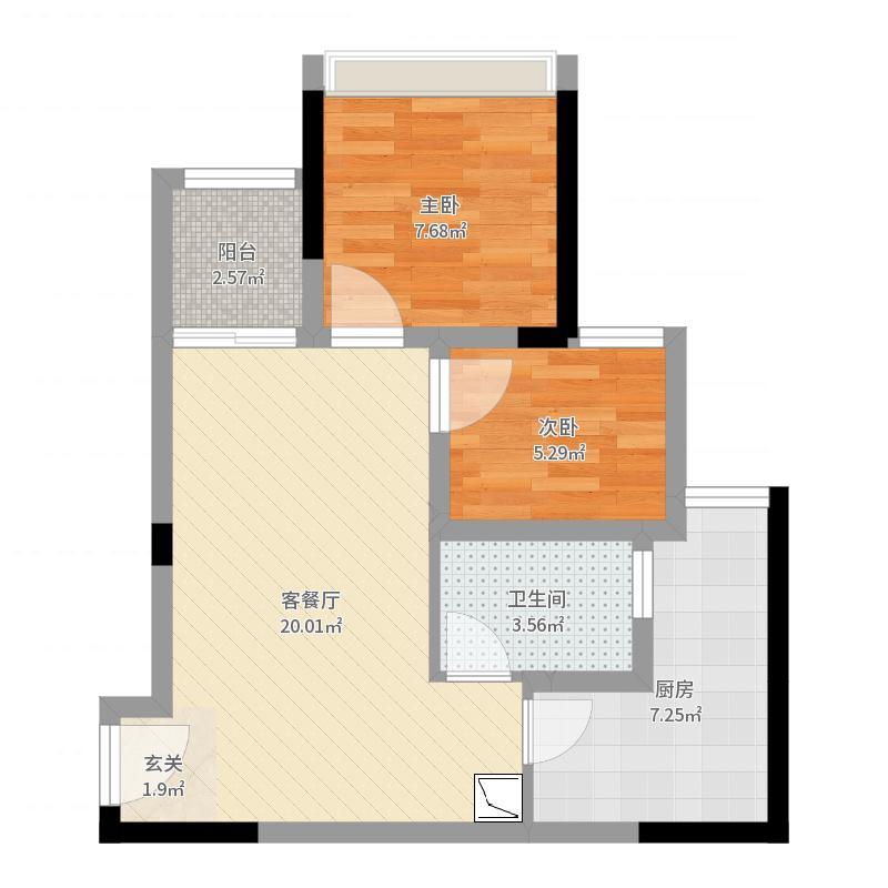 重庆_旭辉城_2017-09-23-1105户型图