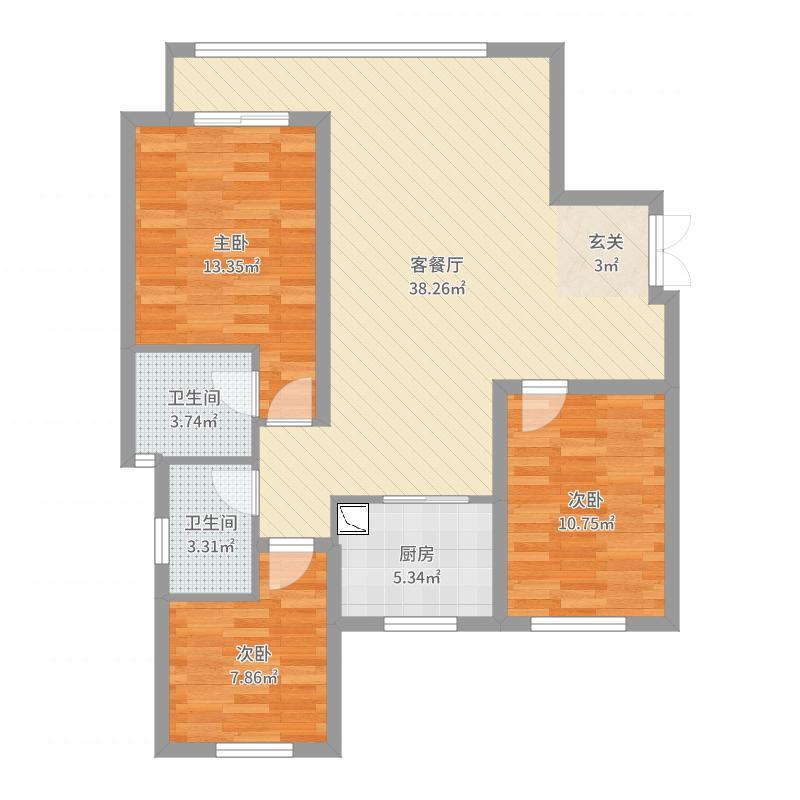 石家庄_龙溪城_2017-09-23-1844户型图