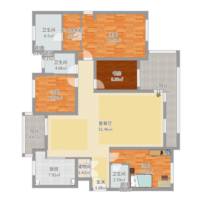 苏州_星屿仁恒_2017-09-23-1603户型图