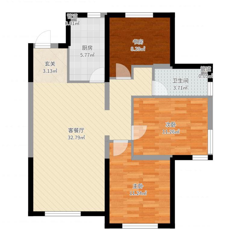 沈阳_万科紫台_2017-09-23-2023户型图