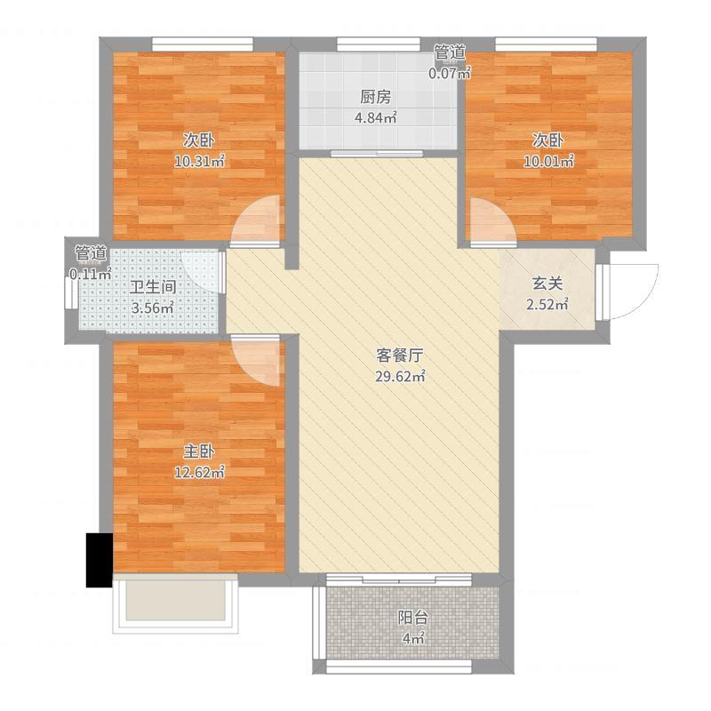 石家庄_主语城_2017-09-23-2140户型图