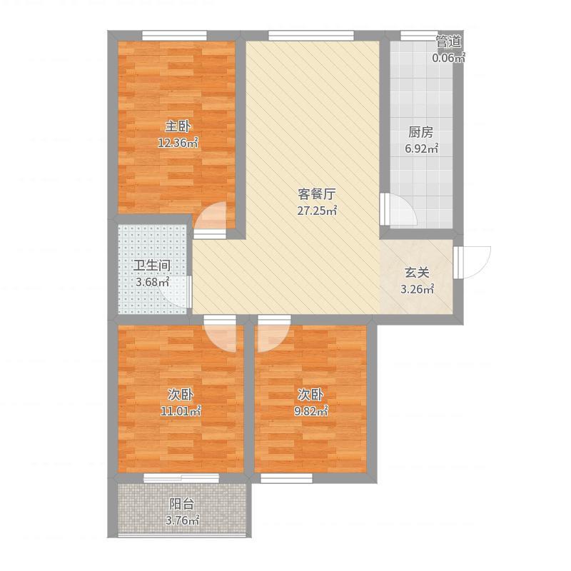 太原_东润国际新城_2017-09-24-1226户型图