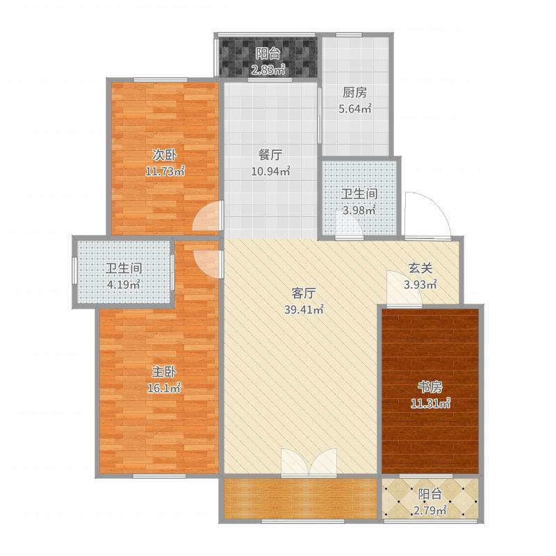 长春_谭泽东南明珠_2017-09-24-1151户型图