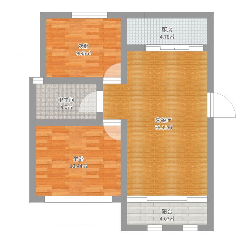 新凯家园二期户型图
