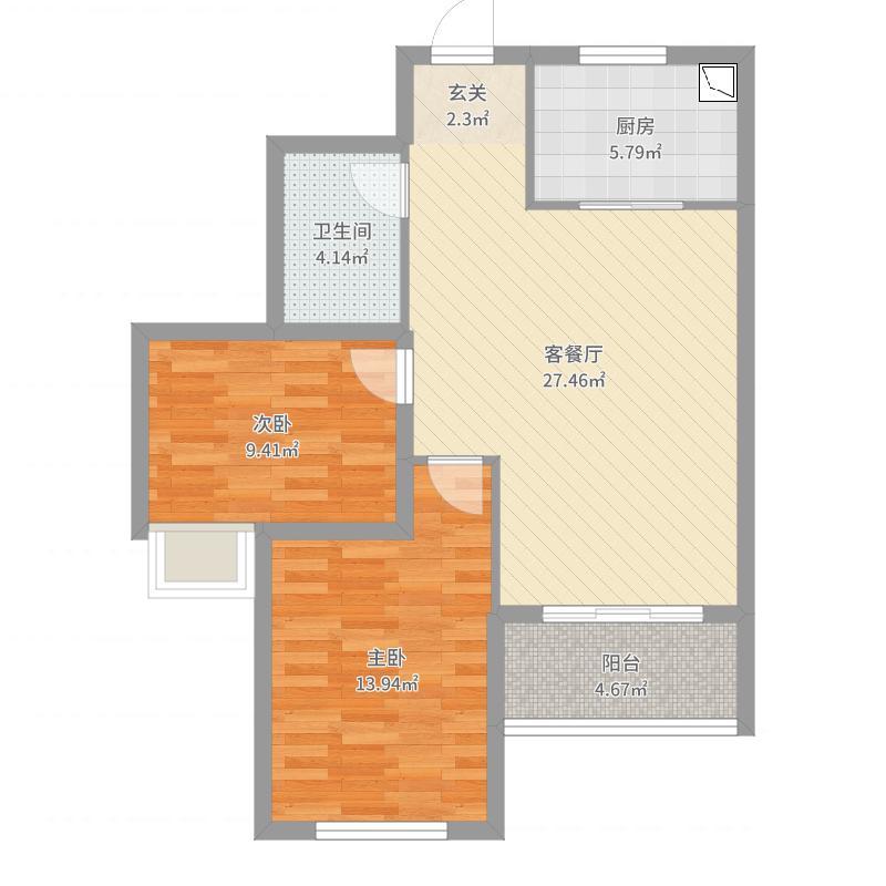 沈阳_碧桂园・银河城_2017-09-24-1525户型图