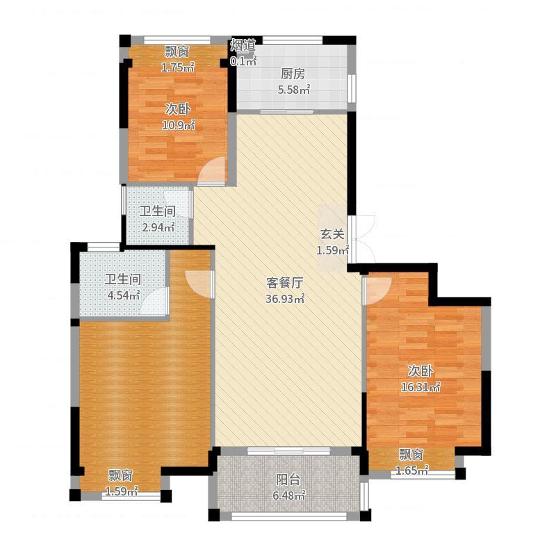 上海_湖山香颂湾_2017-09-24-1849户型图