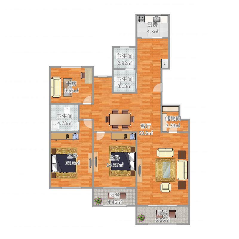凤六新苑户型图