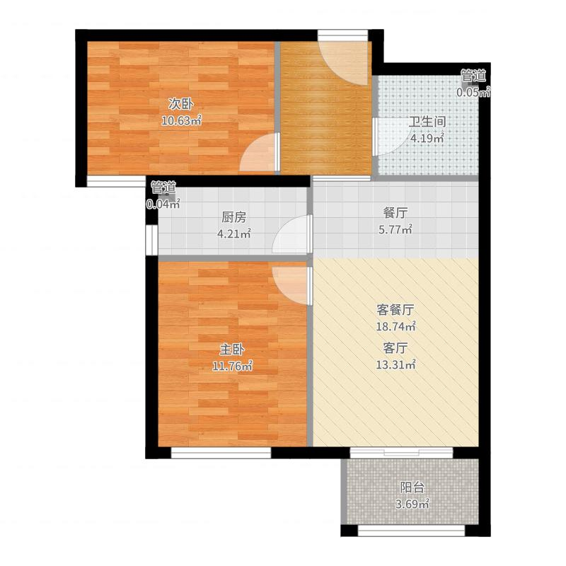 海淀·嘉郡户型图