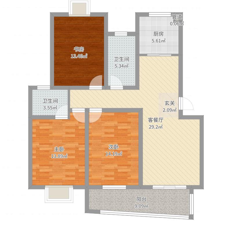 淮安_银河湾_2017-09-25-0922户型图