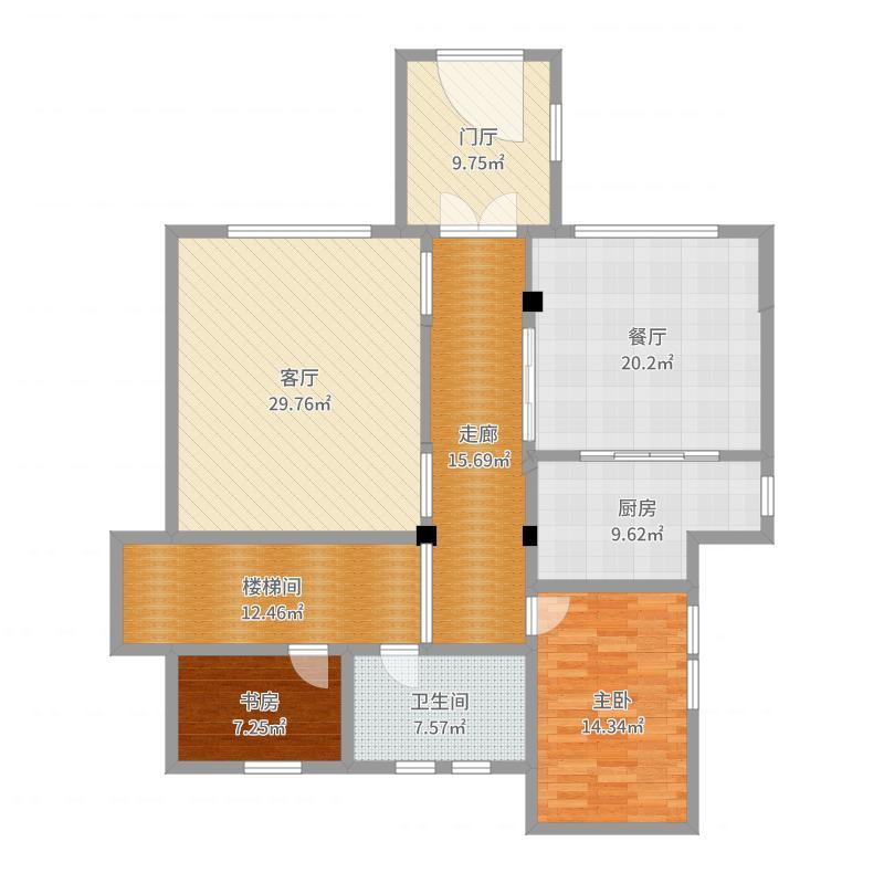 紫东瑞景别墅-谢总-一楼-副本户型图
