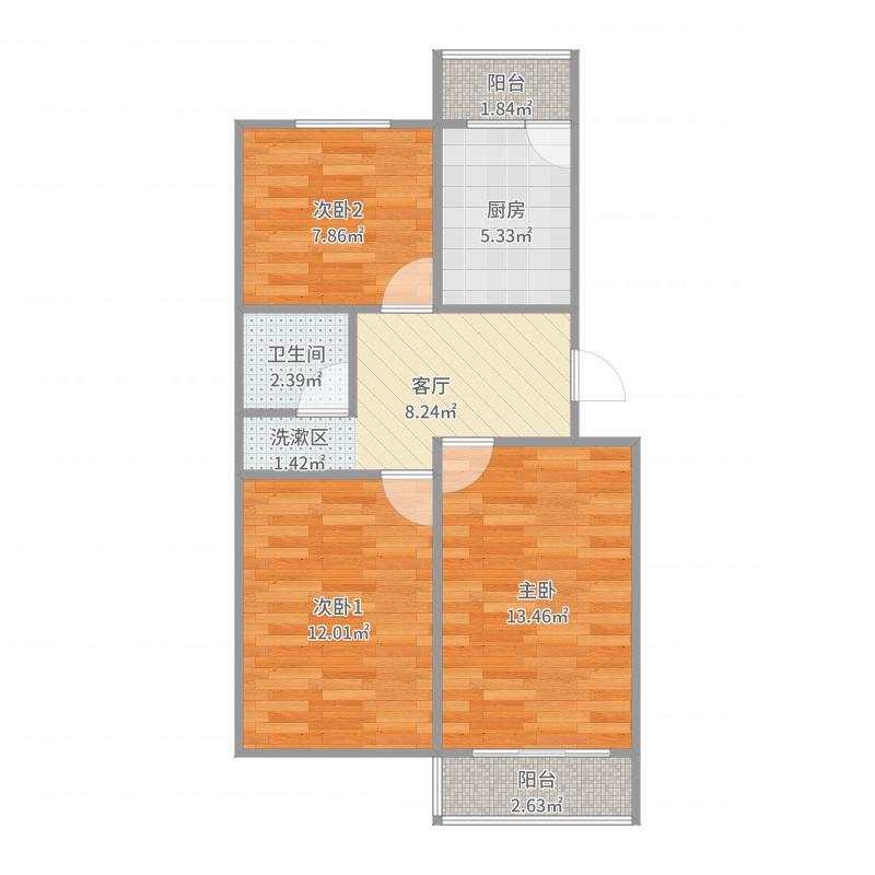 银兆公寓户型图