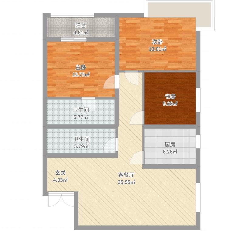 晋城_金城和园_2017-09-25-1618户型图