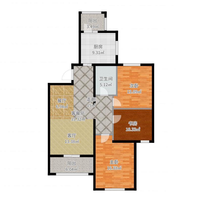 南郡豪庭户型图