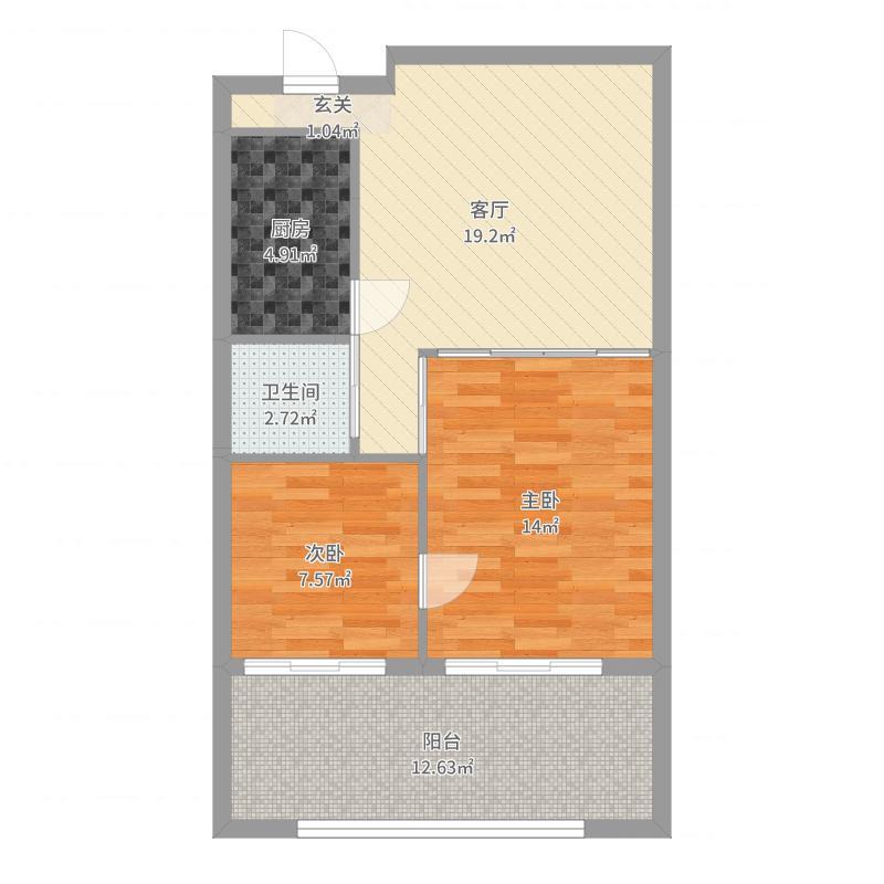 东山家和院户型图