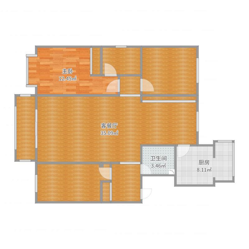 师院小区户型图