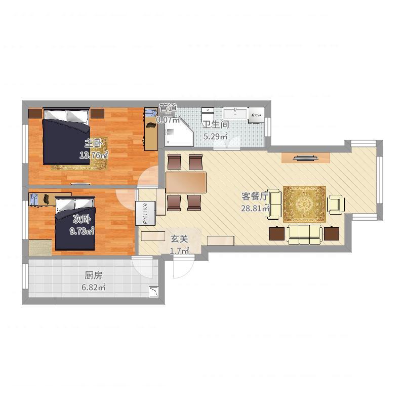 稻田家园户型图