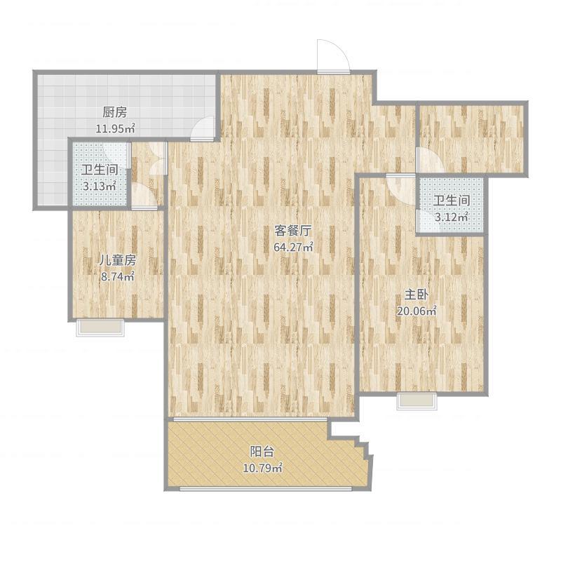 新地春天1302号楼户型图