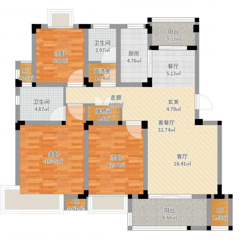 苏州_香城颐园_2017-09-26-1612户型图