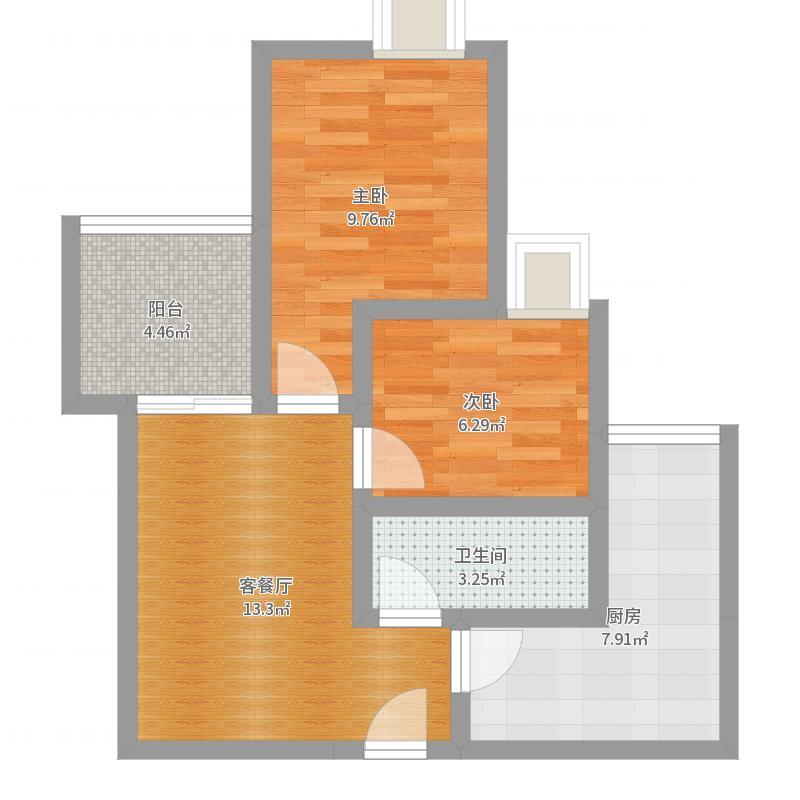天堡家园7-22-9户型图