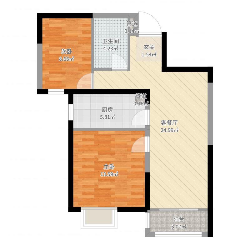 天津_凤河孔雀城_2017-09-26-2112户型图