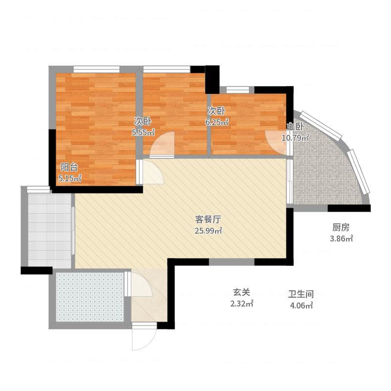 西宁_朝阳民惠城_2017-10-16-1606户型图