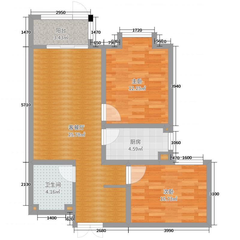 海德名筑户型图