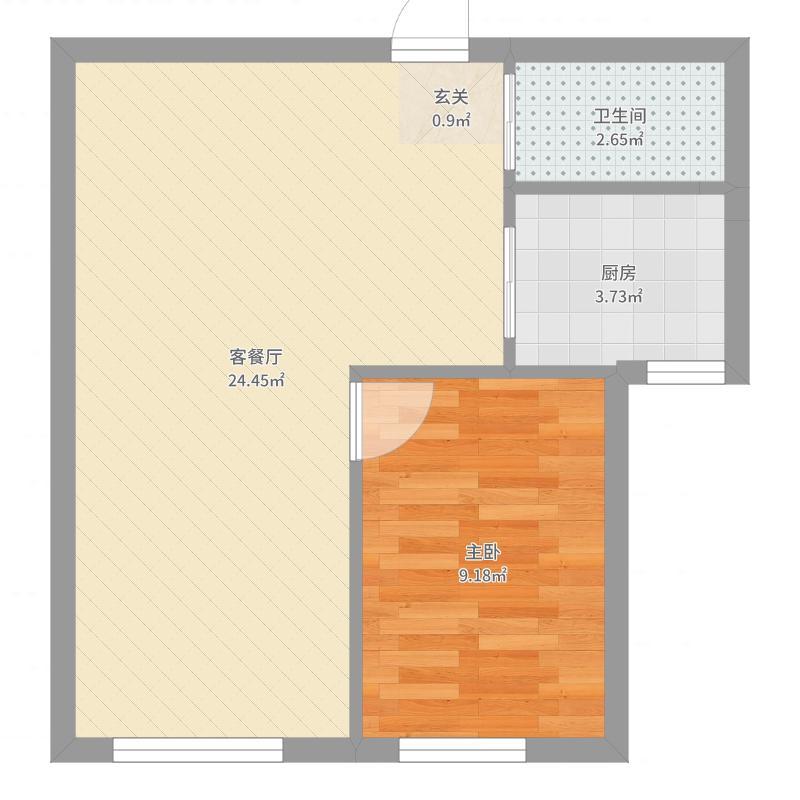 沈铁・青橙社区10、11#楼_t3-Model_副本户型户型图