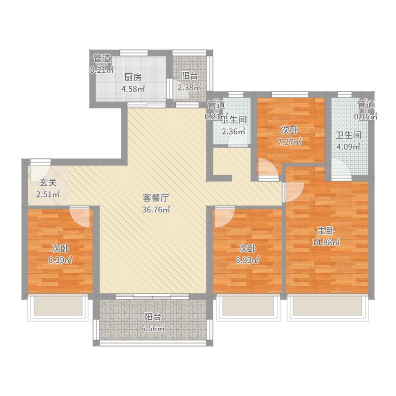 苏州_琴川・碧桂园_2017-10-17-1053户型图