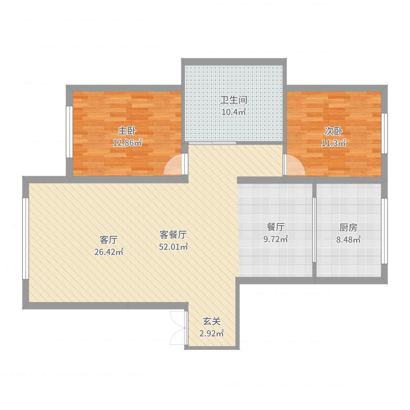 沈阳・五彩阳光城-副本户型图