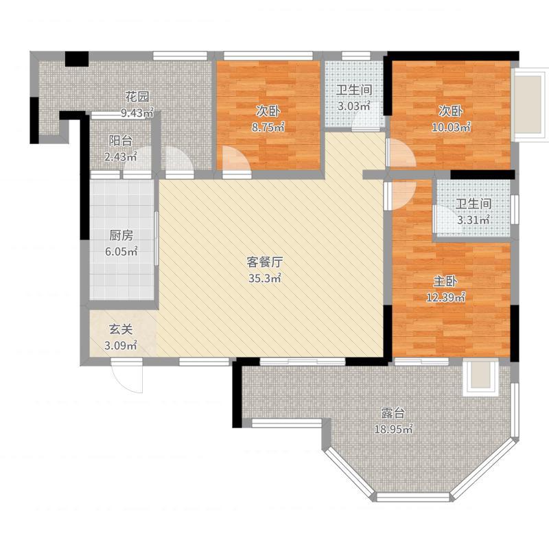 安岳中迪商业广场户型图
