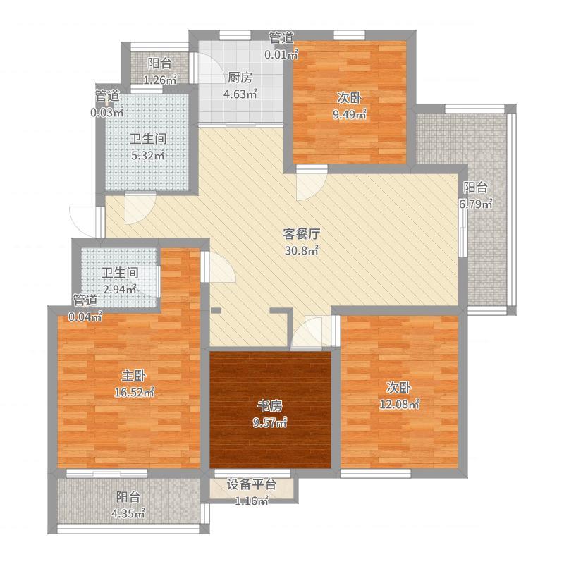 无锡_紫金新城_2017-10-17-1426户型图