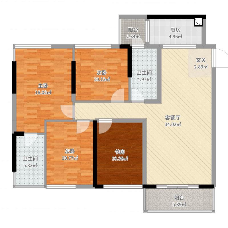 南宁_振业尚府_2017-08-22-1748户型图
