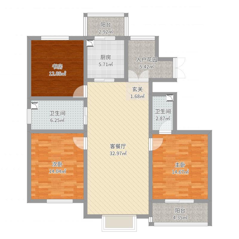 邯郸_九筑台_2017-10-17-1658户型图