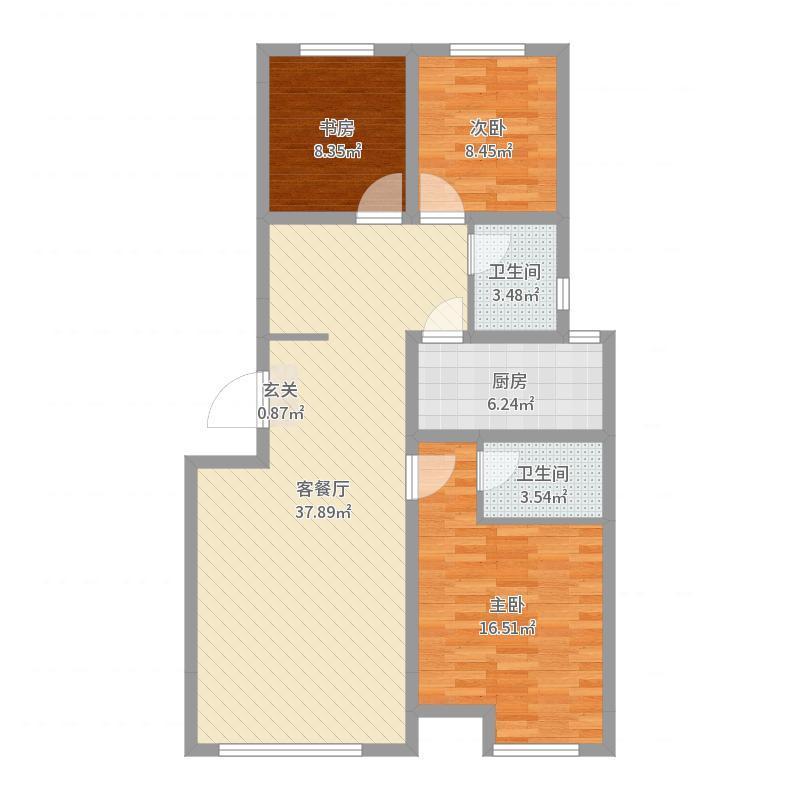 中海蓝庭户型图