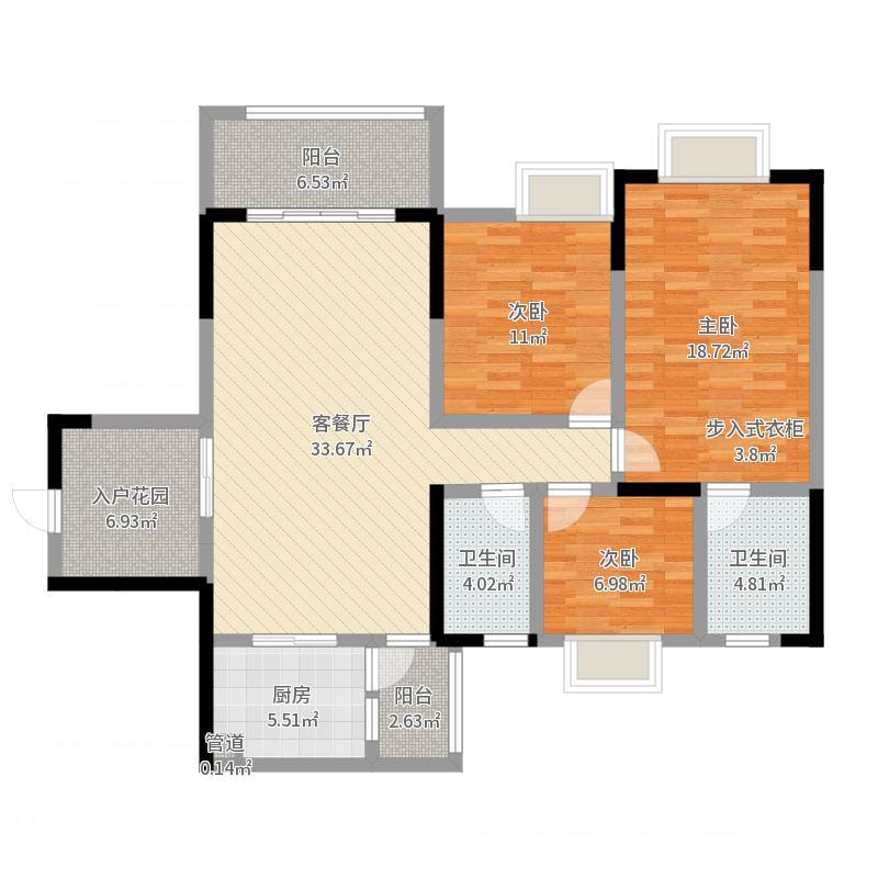 龙城国际广场户型图