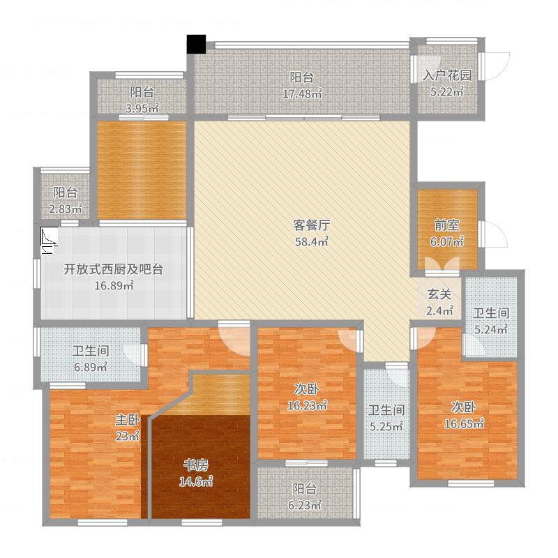 泰山国际金融中心户型图