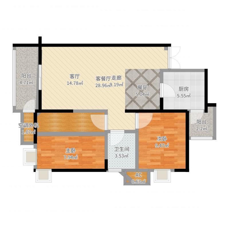 西安_恒基碧翠锦华_2017-10-17-2149户型图