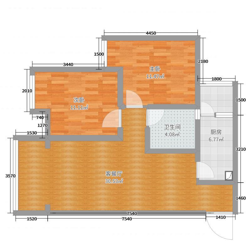 玉屏6-11-4效果图户型图