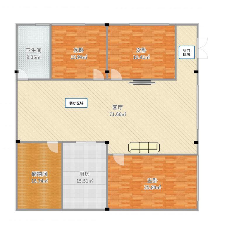 三楼自家用户型图