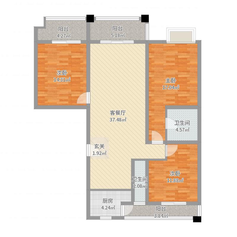 泰和福邸户型图