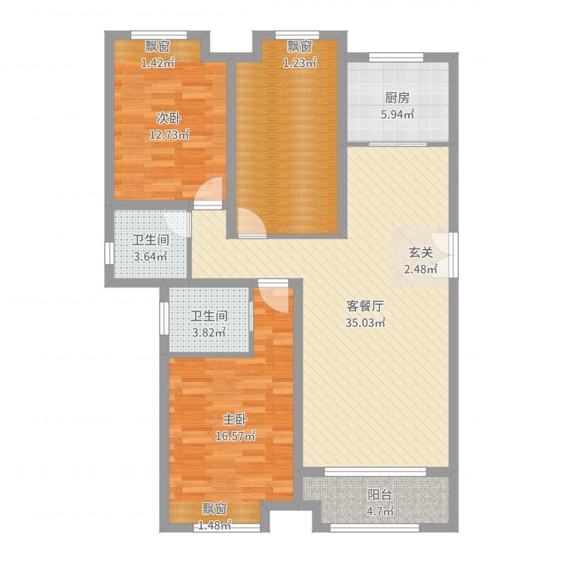 三门峡_明珠家园_2017-10-18-0941户型图