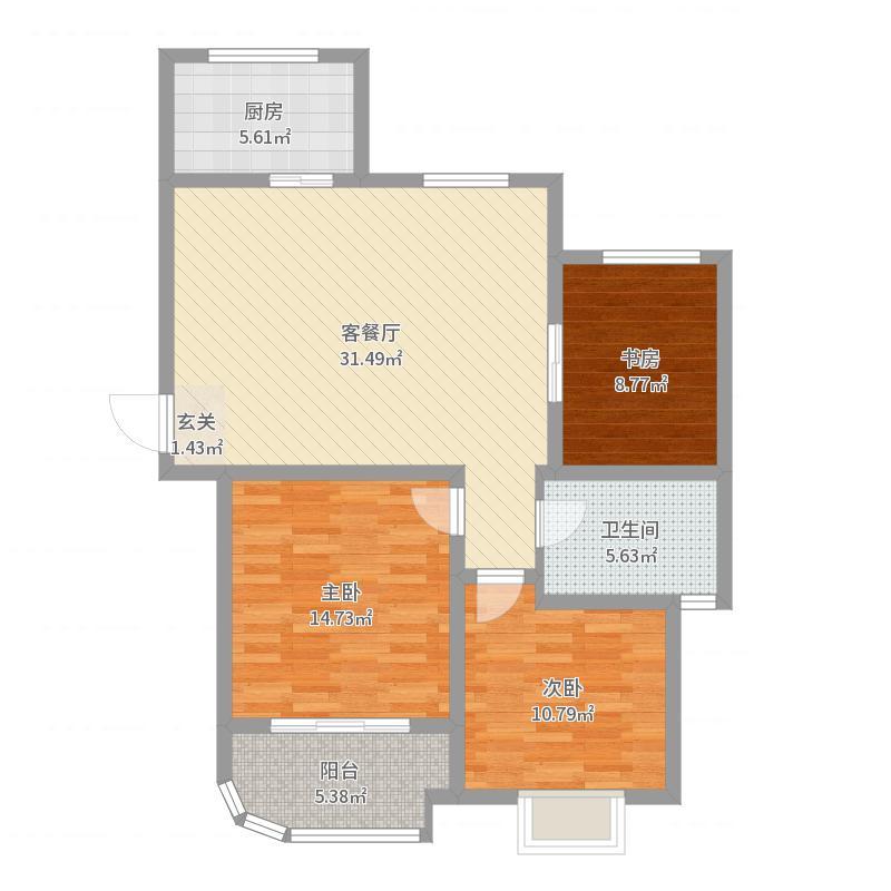 徐州_云龙华府_2017-10-18-1137户型图
