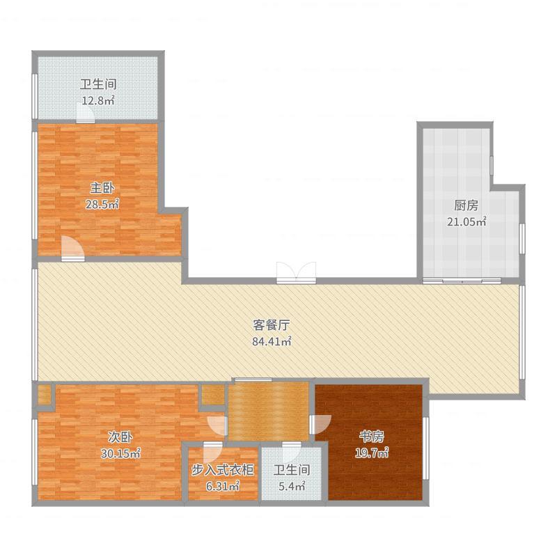 和平区津门公寓B座户型图