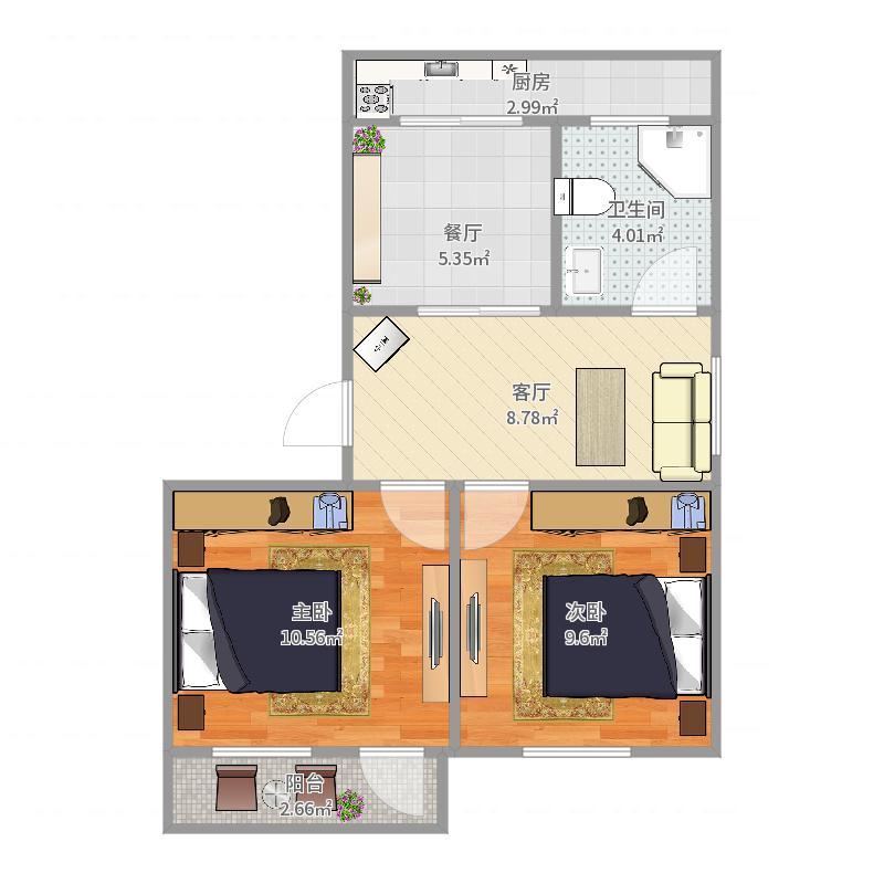 市政府宿舍户型图