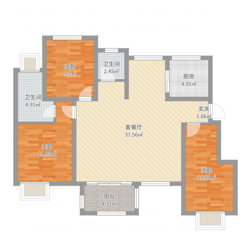 南京_世茂梦享家_2017-10-18-2014户型图