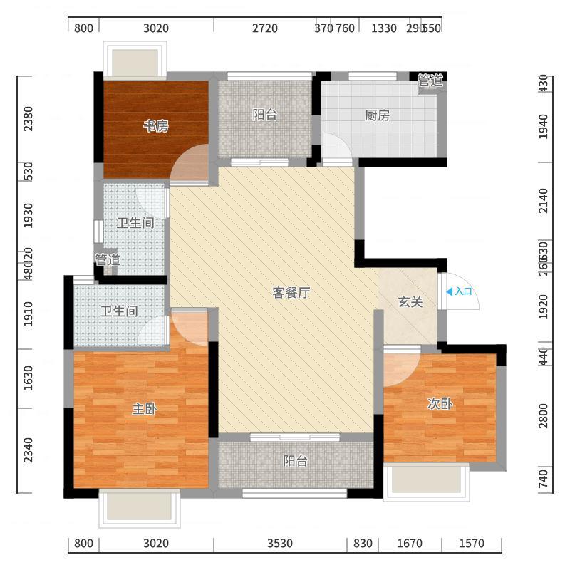 常州_中海凤凰熙岸_2017-10-19-1621户型图