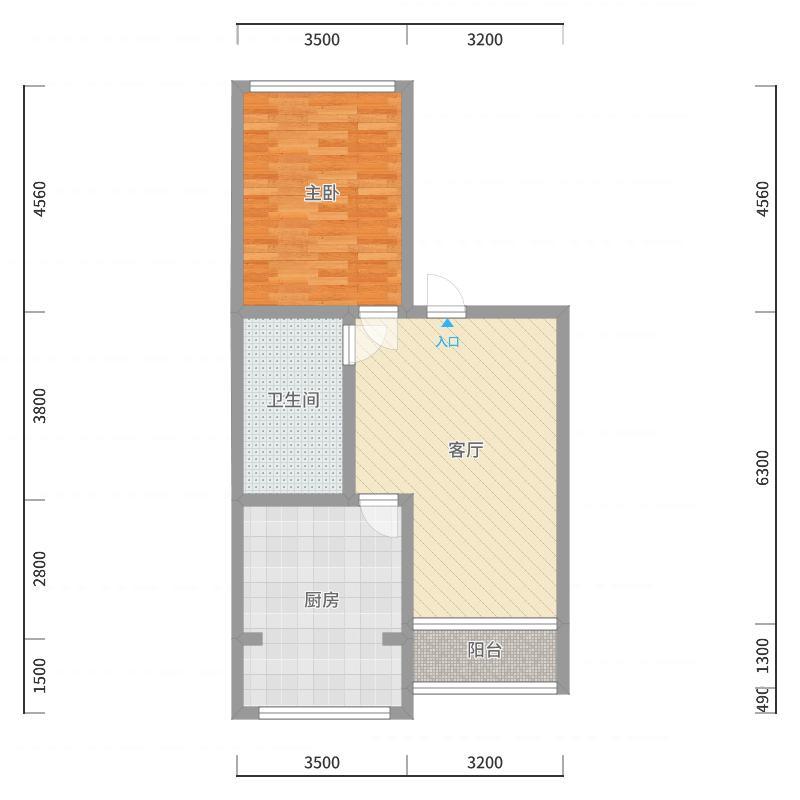 华意小区二楼1-副本-副本户型图